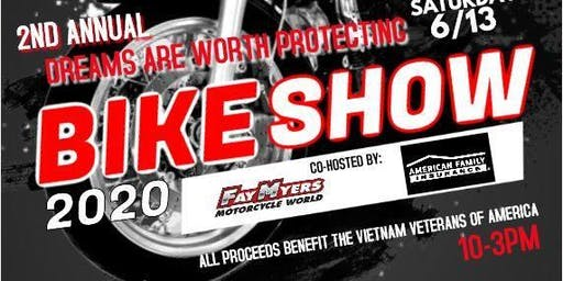 2nd Annual Dreams Are Worth Protecting Bike Show/Contest