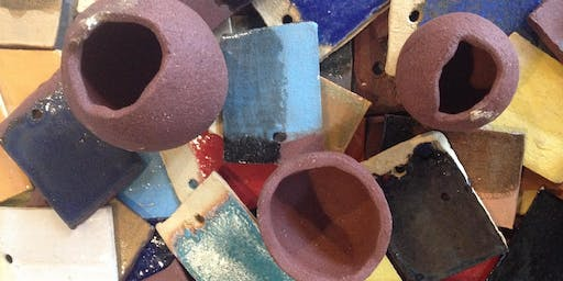 Glazing Beads, Tiles and Pots- FREE Drop In and Create