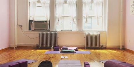 Yoga & Meditation: Let It Go Flow  tickets