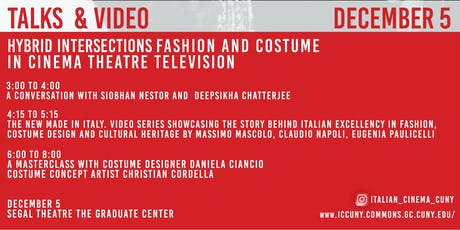 Part III: Hybrid Intersections: Fashion, Costume, Cinema and Television tickets