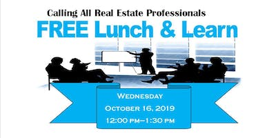 FREE Lunch & Learn for Real Estate Professionals