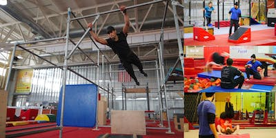 Parkour & Ninja Warrior Intro Workshop @ NYC's Largest Sporting Complex