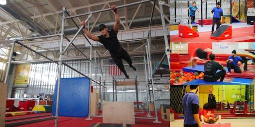 Parkour & Ninja Warrior Intro Workshop @ NYC's Largest Sporting Complex