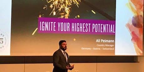 Highest Potential mit Ali Peimann YL D/A/CH - Zielplanung und Zielerreichung Tickets