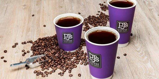 Free 12 oz Coffee at PJ's Coffee Kenner Grand Opening
