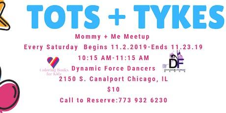 Tots + Tykes Meetup: November 2 tickets