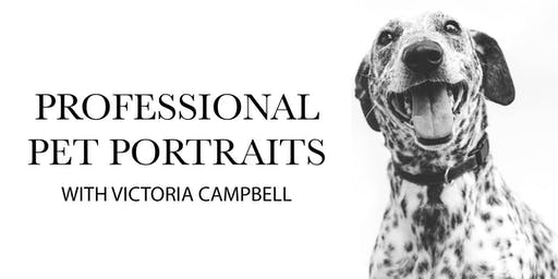 Pet Portrait Pop Up With Victoria Campbell
