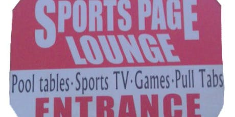 Free Poker Thursdays at 7:30 PM at Sports Page Lounge! Win CASH and prizes! tickets