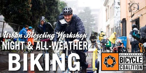 SF Bicycle Coalition Night and All-Weather Biking Class