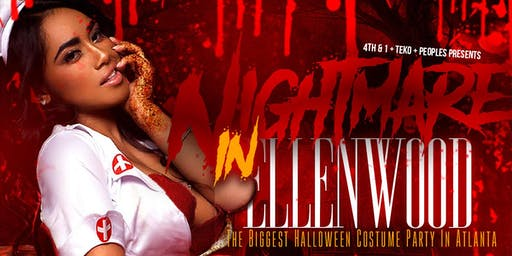 """ Nightmare In Ellenwood "" Halloween Costume Party"