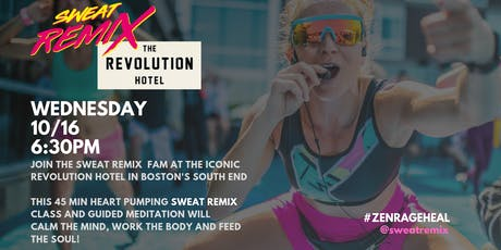 Sweat Remix Pop Up: The Revolution Hotel tickets