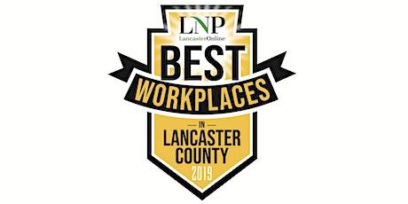 2019 Best Workplaces in Lancaster County Awards Breakfast tickets