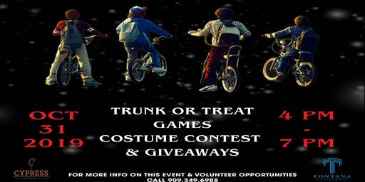 Trunk or Treat- Volunteers Needed