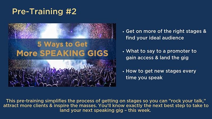 Big Impact Experience: Grow Your Business With Public Speaking image