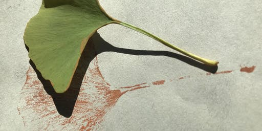 Leaf Printing with Paint, Graphite or Crayon- FREE Drop In and Create
