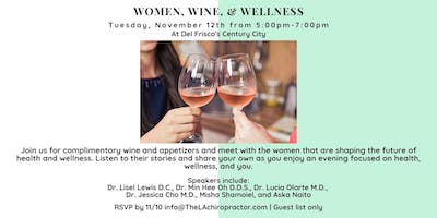 Women, Wine, and Wellness