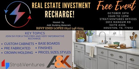 RECHARGE: Talking Baseboards, Custom Finishes, Cabinets, Sizes, & Pricing tickets
