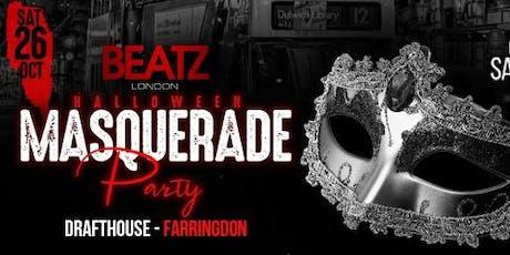 BEATZ LONDON |♚| HALLOWEEN MASQUERADE PARTY tickets