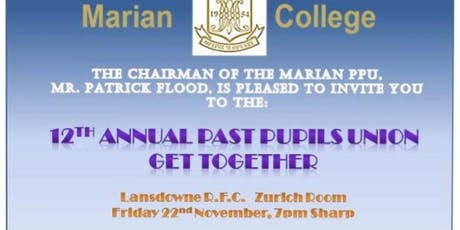 Marian Annual PPU Get Together tickets