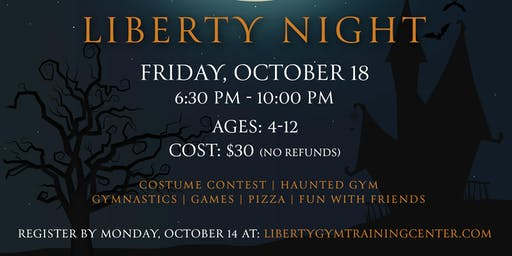 Halloween Parent Liberty Night
