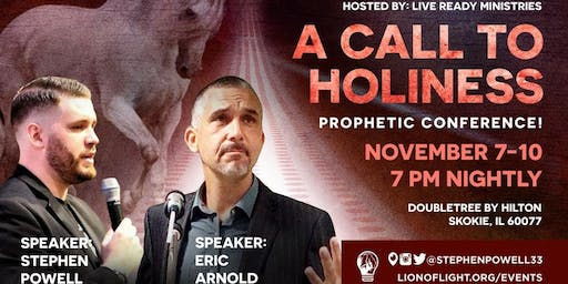 2019 Live Ready - Prophetic Conference! Call to Holiness