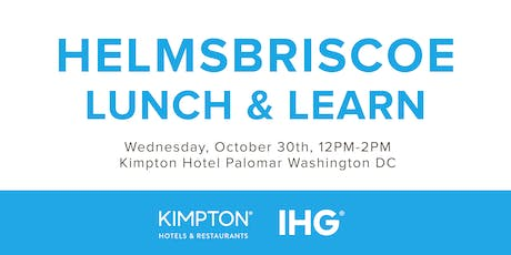 HelmsBriscoe Lunch & Learn with IHG® and Kimpton tickets