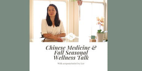 Spherical Talk: Seasonal Wellness by acupuncturist Ivy Lee tickets