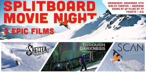Splitboard Movie Night - Shelter   Through Darkness   SCAN