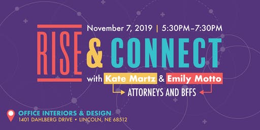 RISE & Connect with Kate Martz & Emily Motto