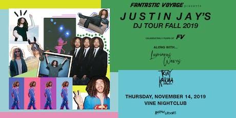 Justin Jay's Fantastic Voyage at Vine on Thursday Nov 14 - GVL, SC tickets