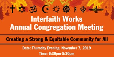 Interfaith Works Annual Congregation Meeting