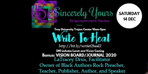Write To Heal Masterclass