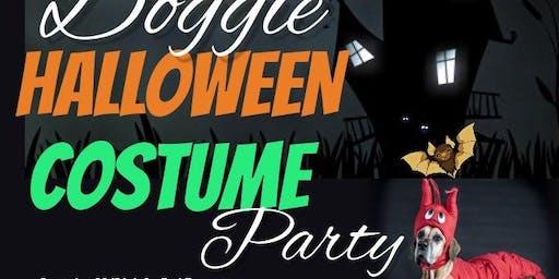 Doggie Halloween Costume Party