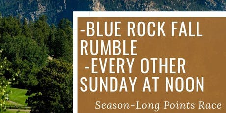 Blue Rock Fall Rumble Event #3 - Individual Stroke Play tickets