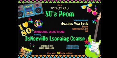 """Totally Rad 80s Prom"" Auction Event"