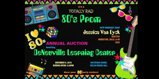 """""""Totally Rad 80s Prom"""" Auction Event"""