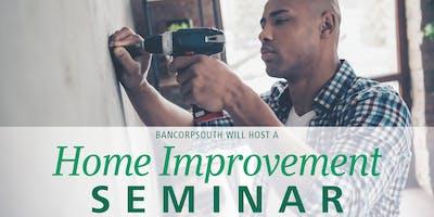 BancorpSouth Home  Improvement Seminar - Woodlawn Birmingham