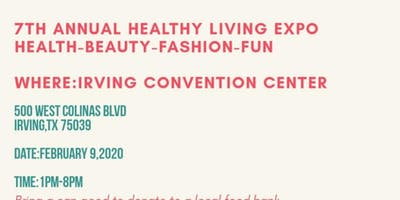 7th Annual Healthy Living Expo (Health-Beauty-Fashion-Fun)
