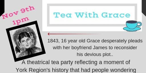 "Shadowpath Theatre presents ""Tea with Grace"" at Hesperus Village"