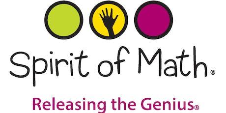 Spirit of Math International Contest Richmond Hill North Campus 2019 - 2020 tickets