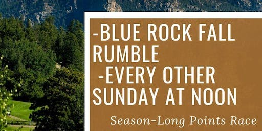 "Blue Rock Fall Rumble Event #4 - Two-Person ""Shamble!"""