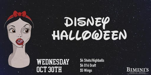 Bims Wednesday: Disney Halloween