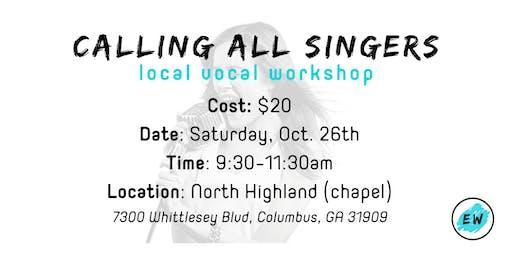 Eminent Worship Vocal Workshop