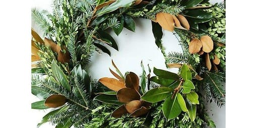 Fresh Holiday Wreath Workshop   (2019-12-07 starts at 1:30 PM)