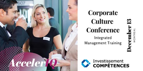 Montreal's Corporate Culture Conference by AccelerIQ tickets