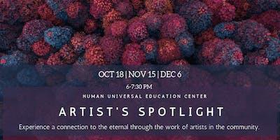 Artist's Spotlight: Experience a Connection to the Eternal through Art