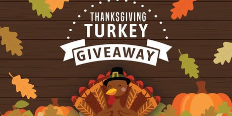 Thanksgiving Turkey Giveaway tickets