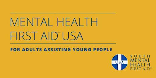 Youth Mental Health First Aid Training (YMHFA)