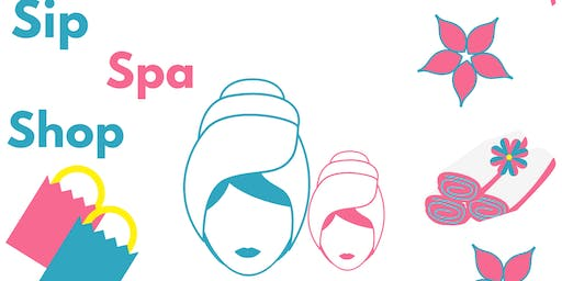 Mommy & Me Sip, Spa & Shop