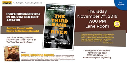 The Third Bank of the River: Power and Survival in the 21st Century Amazon